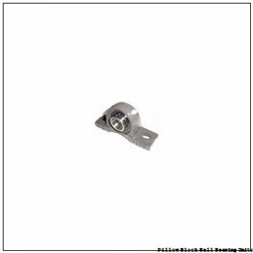 1.1875 in x 5.3750 to 6.1250 in x 1.6875 in  Sealmaster SPM-19 HTA Pillow Block Ball Bearing Units