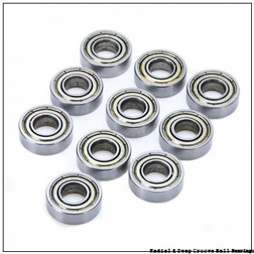 1.0000 in x 2.0000 in x 1.1875 in  Nice Ball Bearings (RBC Bearings) 7616DLGTNTG18 Radial & Deep Groove Ball Bearings