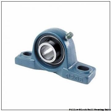 1.438 Inch   36.525 Millimeter x 1.688 Inch   42.87 Millimeter x 1.813 Inch   46.05 Millimeter  Sealmaster NPL-23C Pillow Block Ball Bearing Units
