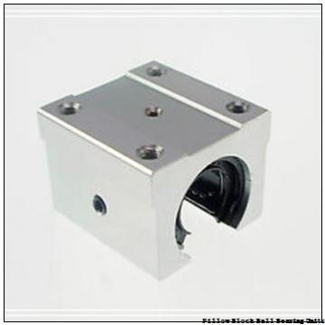 1.688 Inch | 42.875 Millimeter x 2.031 Inch | 51.59 Millimeter x 2.375 Inch | 60.325 Millimeter  Sealmaster SPM-27 CXU Pillow Block Ball Bearing Units