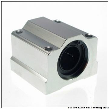 1.438 Inch | 36.525 Millimeter x 1.688 Inch | 42.87 Millimeter x 1.875 Inch | 47.63 Millimeter  Sealmaster NP-23 DRT Pillow Block Ball Bearing Units