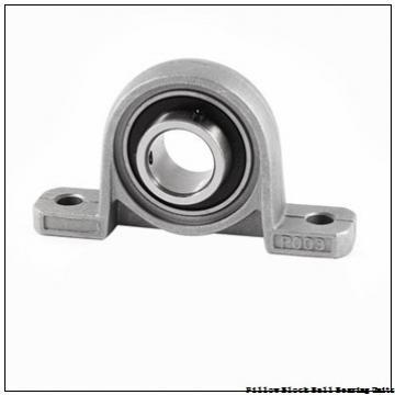 1.188 Inch | 30.175 Millimeter x 1.5 Inch | 38.1 Millimeter x 1.688 Inch | 42.875 Millimeter  Sealmaster NP-19T Pillow Block Ball Bearing Units