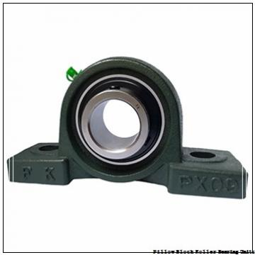 2.5000 in x 9-3/4 in x 4-7/8 in  Rexnord ZP5208G Pillow Block Roller Bearing Units