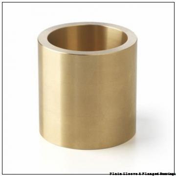 Bunting Bearings, LLC AA1608 Plain Sleeve & Flanged Bearings