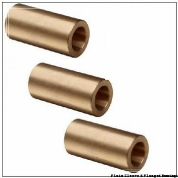 Bunting Bearings, LLC AAM020025030 Plain Sleeve & Flanged Bearings